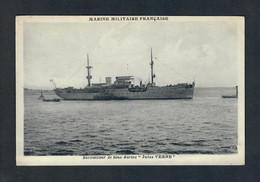 """CTH - Marine Militaire Française - Ravitailleur De Sous-Marins """"Jules Verne"""" - M.J - Guerra"""