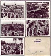 (99). Luxembourg. Pont Adolphe Et Vue Partielle De La Ville Oblit & Pont Grande Duchesse Charlotte & 10 Petites Photos - Lussemburgo - Città