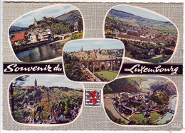 (99). Luxembourg. 610.3 Porte De Grund & Palais Grand Ducal 13.08.2012 & 131 Souvenir & Esch Alz 1974 - Lussemburgo - Città