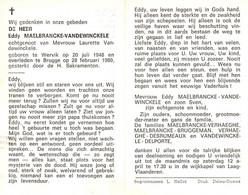 Eddy Maelbrancke (1948-1980) - Santini