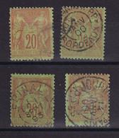 D223 / LOT SAGE N° 96 OBL - 1876-1898 Sage (Type II)