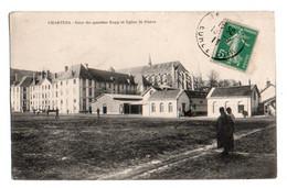 (28) 052, Chartres, Collection AD, Cour Du Quartier Rapp Et Eglise St Pierre - Chartres