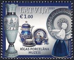 Latvia Lettland Lettonie 2021 (12) Museums Of Latvia - Riga Porcelain Museum - Letonia