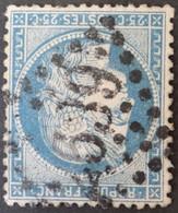 60A Obl GC 2639 Neuvéglise (14 Cantal ) Ind 12 ; Frappe Nette - 1849-1876: Klassieke Periode
