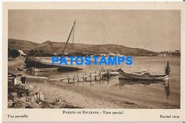 168320 SPAIN ESPAÑA POLLENSA PORT PUERTO VISTA PARCIAL POSTAL POSTCARD - Unclassified