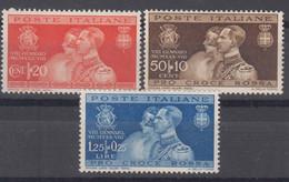 Italy Kingdom 1930 Sassone#269-271 Mint Hinged - Mint/hinged