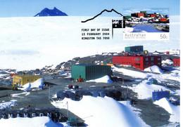 """"""" MAWSON STATION / A.A.T. """" Sur Carte Maximum Et PAP Neuf Du Territoire Antarctique Australien De 2004 Parf état CM - Tarjetas – Máxima"""