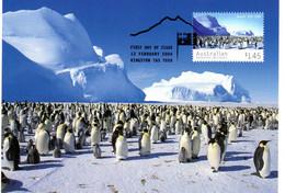 """✅ """" AUSTER EMPEREUR PENGUIN / A.A.T. """" Sur Carte Maximum Et PAP Neuf Du Territoire Antarctique De 2004. CM - Tarjetas – Máxima"""