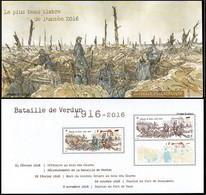 France - Feuillet Bloc Souvenir N° 141 ** Plus Beau Timbre De L'année, Verdun (comprend 5063+5063_A) - Bloques Souvenir