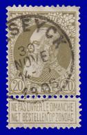 "COB N° 75 - Belle Oblitération - ""MASEYCK"" - 1905 Thick Beard"