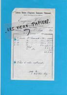 70 - Haute-saône - AUGICOURT - Facture THIERY - Laiterie - 1950 - REF 192A - 1900 – 1949