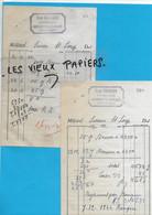 70 - Haute-saône - BASSIGNEY-LES-CONFLANS - Facture BRUGGER - Fromagerie - 1944 - REF 192A - 1900 – 1949