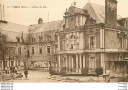 PHL 2 X Cpa 18 VIERZON. Hôtel De Ville Et Eglise Sur Vallée Du Cher. Impeccables Et Vierges - Vierzon