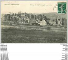 15 REPONS. Le Village Près Saint-Urcize Vers 1908 (coupure 2mm)... - Other Municipalities