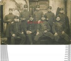WW 87 BELLAC. Photo Carte Postale Rare Groupe De Militaires Du 138° Régiment D'Infanterie 1915 (pli Coin Gauche) - Bellac
