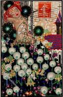 Wiener Werkstätte 733 Singer. Susi Weihnachten I-II (Frankiert Auf VS) Noel - Wiener Werkstaetten