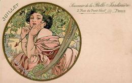 Mucha, Alfons Juillet I-II (fleckig) - Zonder Classificatie