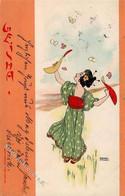 Kirchner, Raphael Geisha I. 1900 I-II - Kirchner, Raphael