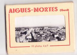 Quo- 30 Gard  Carnet De 10 Photos  AIGUES MORTES - Aigues-Mortes