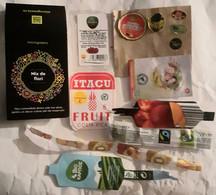FRUITS  & VEGETABLES LABELS - Fruits Et Légumes