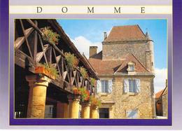 24 - Domme - La Halle Et La Maison Du Gouverneur - Autres Communes