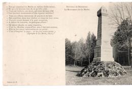 CPA BOURMONT (52) Non Datée - Le Monument De La Mothe - Texte De L'épitaphe De La Mothe - écrite - Non Timbrée - Bourmont