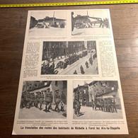 1920 PATI Translation Habitants Richelle à Forst Lez Aix-la-Chapelle Exhumation Des Fusilles - Unclassified