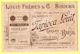 Chromo Louit à Bordeaux. 2 Fillettes Avec éventails - Autres