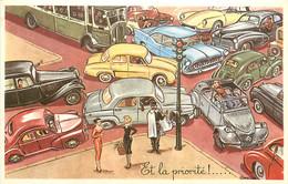 ♥ LOUIS CARRIERE ♥ Automobile , 2cv 4cv Dauphine Traction DS 203 Chambord Aronde Isétta , * 466 87 - Carrière, Louis