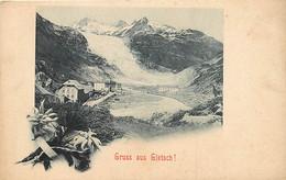 SUISSE ♥ Obergoms/Gletsch ♥ Gruss Aus , * 468 16 - VS Valais
