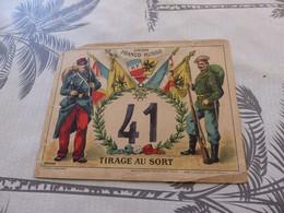 M-177 , Union Franco-Russe, Tirage Au Sort, N°41, WW1 - Documents
