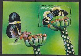 St Vincent - 2001 - Bloc Feuillet BF N°Mi. 547 - Papillon / Butterfly - Neuf Luxe ** / MNH / Postfrisch - Butterflies