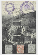 FRANCE BLANC AU RECTO 1CX2+3C THANN ALSACE 3.10.1915  + CACHET DE MAIRIE - 1877-1920: Periodo Semi Moderno