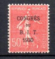 W-18 France N° 264 **  à 10 % De La Côte . A Saisir !!! - 1903-60 Semeuse Lignée