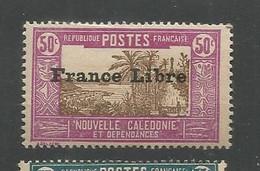 208  Timbre Surchargé France Libre  Sans Ch                           (clasncver) - Neufs
