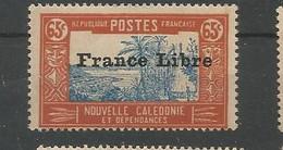 211  Timbre Surchargé France Libre  Sans Ch                           (clasncver) - Neufs
