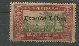 209  Timbre Surchargé France Libre  Sans Ch                           (clasncver) - Neufs