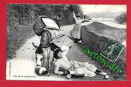 64  AU PAYS BASQUE - UNE CHUTE MALHEUREUSE - TBE - Ohne Zuordnung