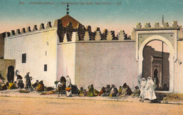 CASABLANCA (Maroc) à Petit Prix - Marabout De Sidi-Belyout - Cpa Très Animée - Très Bon état - Casablanca