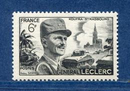 ⭐ France - Variété - YT N° 815 - Couleurs - Pétouille - Boucle à L'oreille - Neuf Sans Charnière - 1948 ⭐ - Varieties: 1945-49 Mint/hinged