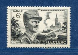 ⭐ France - Variété - YT N° 815 - Couleurs - Pétouille - 3 ème étoile Képi - Neuf Sans Charnière - 1948 ⭐ - Varieties: 1945-49 Mint/hinged
