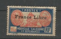 219  Timbre Surchargé France Libre  Sans Ch                           (clasncver) - Neufs