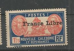 222  Timbre Surchargé France Libre  Sans Ch                           (clasncver) - Neufs