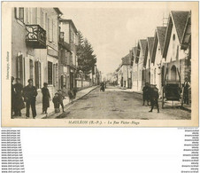 Top Promotion : 64 MAULEON. Animation Rue Victor-Hugo 1945 - Mauleon Licharre