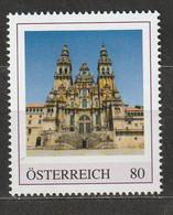 Personalisierte BM Kathedralen In Europa Kathedrale Von Santiago De Compostela Jakobsweg Spanien ** Postfrisch - Private Stamps