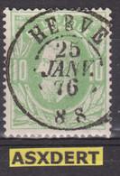 N° 30 DC Herve  1876 - 1869-1883 Leopold II