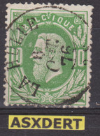 N° 30 DC La Hulpe 1876 - 1869-1883 Leopold II