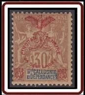 Nouvelle Calédonie 1903-1909 - N° 76 (YT) N° 70 (AM) Neuf *. - Nuevos