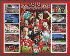 Football - Soccer - FVC Liverpool - GRENADA - Sheet MNH - Non Classificati