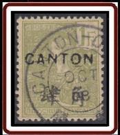 Canton - Bureau Indochinois - N° 46 (YT) N° 46 (AM) Oblitéré. - Gebraucht